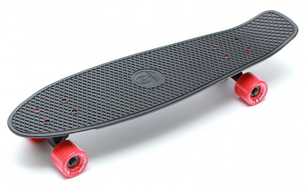 Купить Скейтборд Triumf Active TLS-402 черный с красными колесами, 27 ,