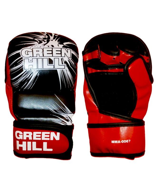 Перчатки для смешанных единоборств Green Hill MMA-0067 перчатки боксерские green hill abid