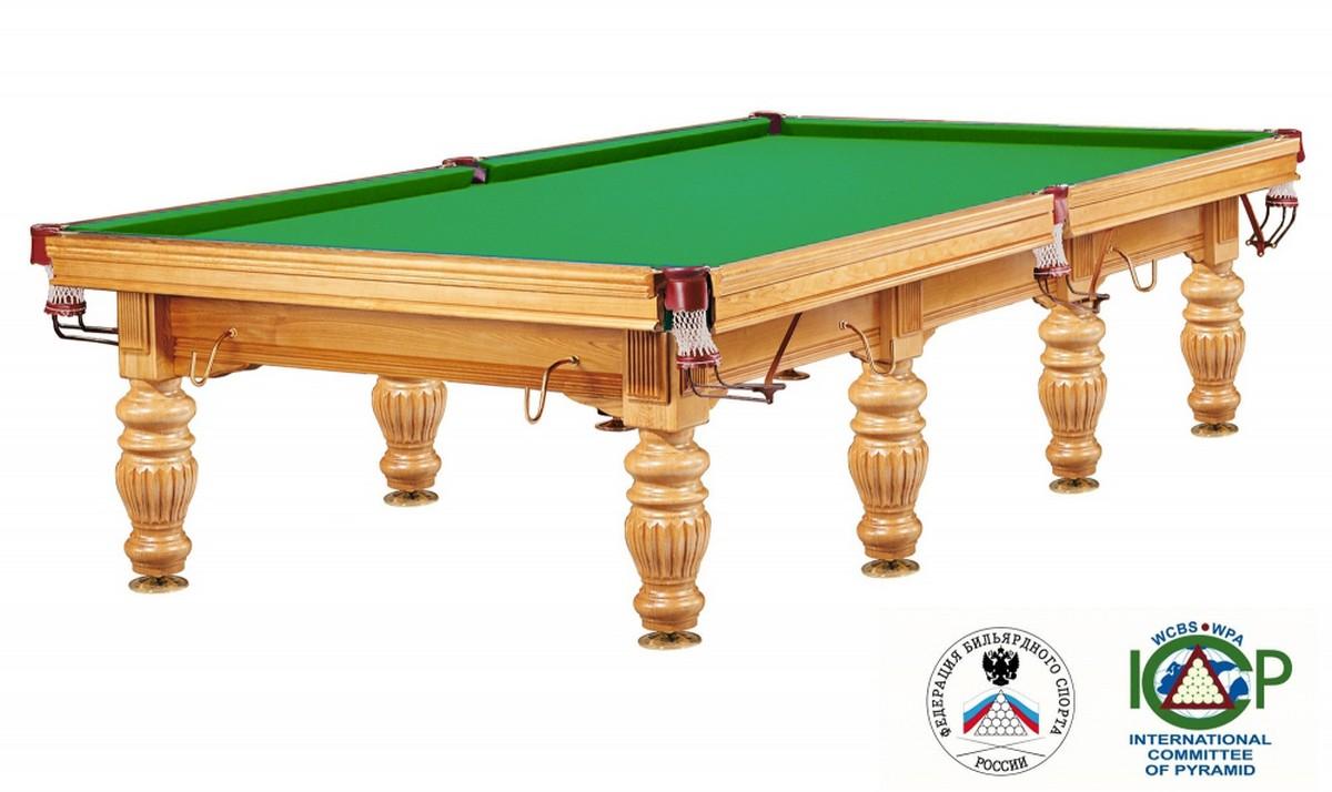 Бильярдный стол для русского бильярда Dynamic Prince 12 ф дуб