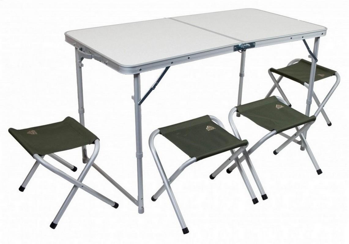 Комплект мебели Trek Planet Event Set 120, стол+4 стула