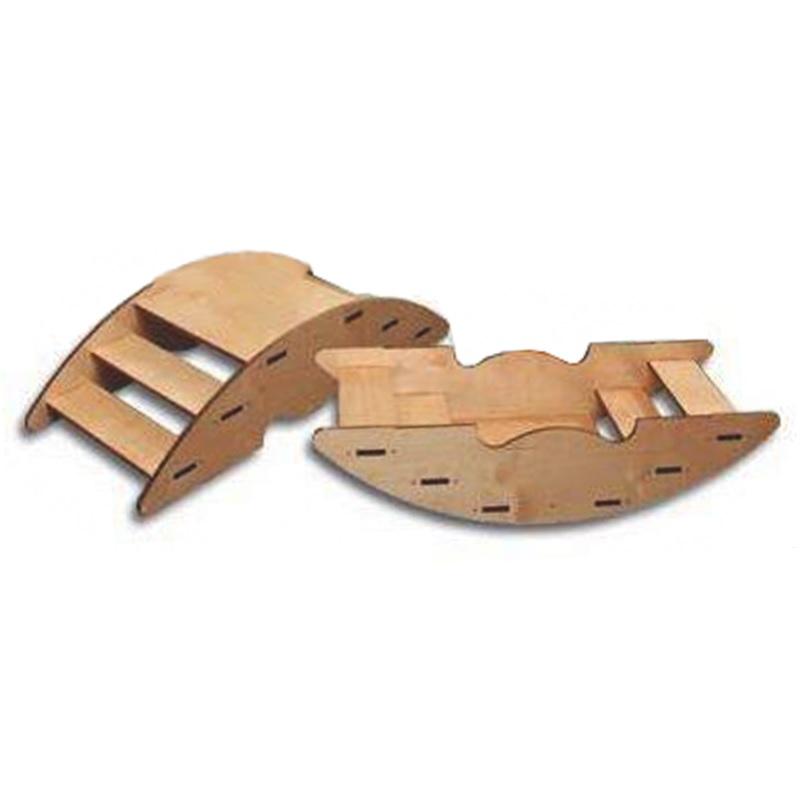 Лестница-качалка спортивная из фанеры Dinamika ZSO-002167,  - купить со скидкой