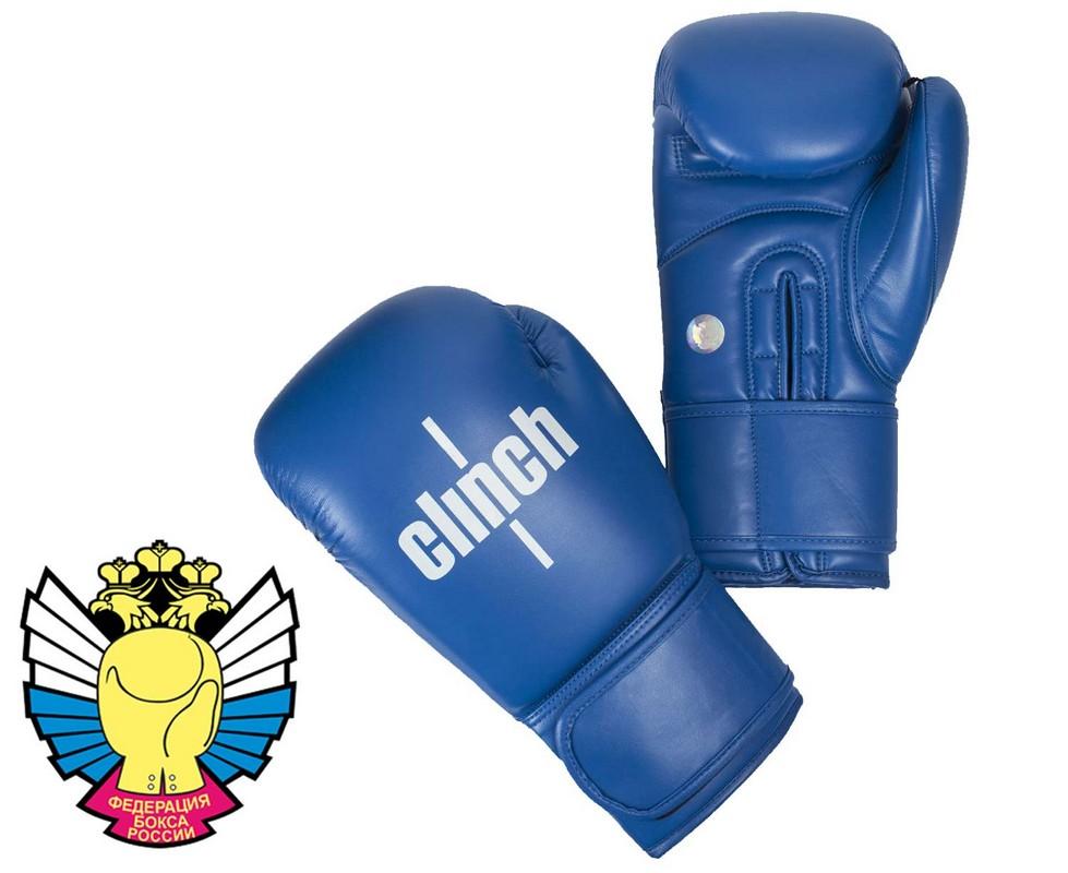 Перчатки боксерские Clinch Olimp синие C111