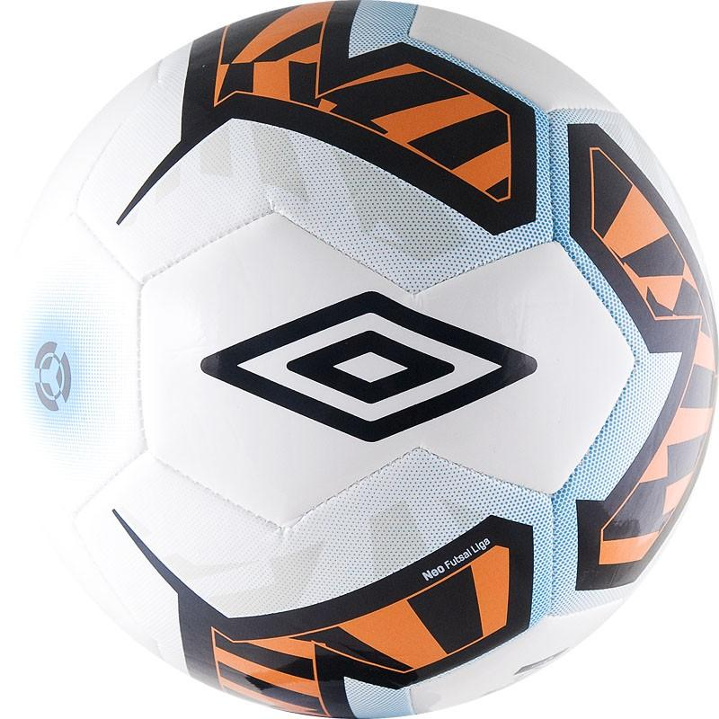 Мяч минифутбольный Umbro Neo Futsal Liga р.4 20785U мяч футзальный umbro neo futsal liga р 4