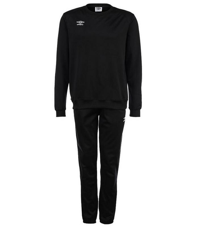 Костюм спортивный Umbro Uniform II Poly Suit 353114 (661) чер/бел.
