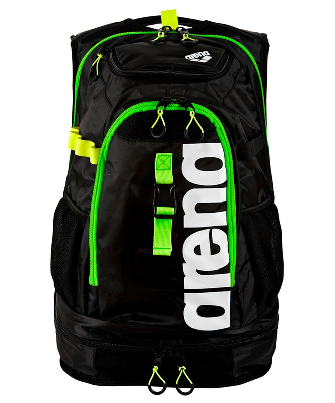 Рюкзак Arena Fastpack 2.1 dark grey/acid lime/white (1E388 16) черн/лайм