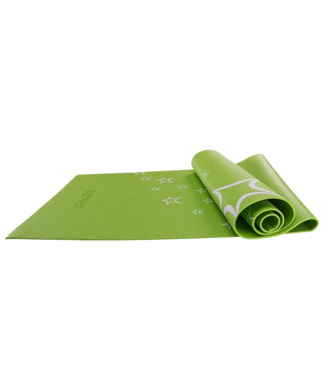 Купить Коврик для йоги Star Fit FM-102 PVC 173x61x0,5 см, зеленый,