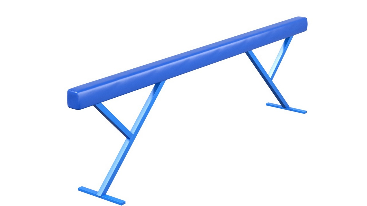 Купить Бревно гимнастическое высокое мягкое L=5 м Glav 04.10.08-5,