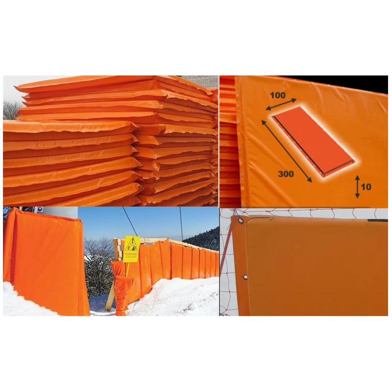 Купить Мат для горнолыжных трасс 300х100х10 см Dinamika Тент (ппу) люверсы ZSO-002895,