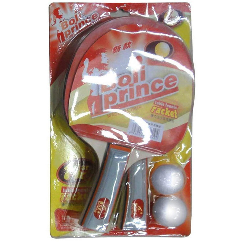 Купить Набор для настольного тенниса (2 ракетки, 2 шарика) H09893, NoBrand