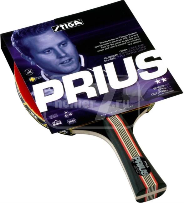 Ракетка для настольного тенниса Stiga Prius Crystal 1678-01 набор для настольного тенниса stiga stream 1 ракетка чехол и 3 мяча