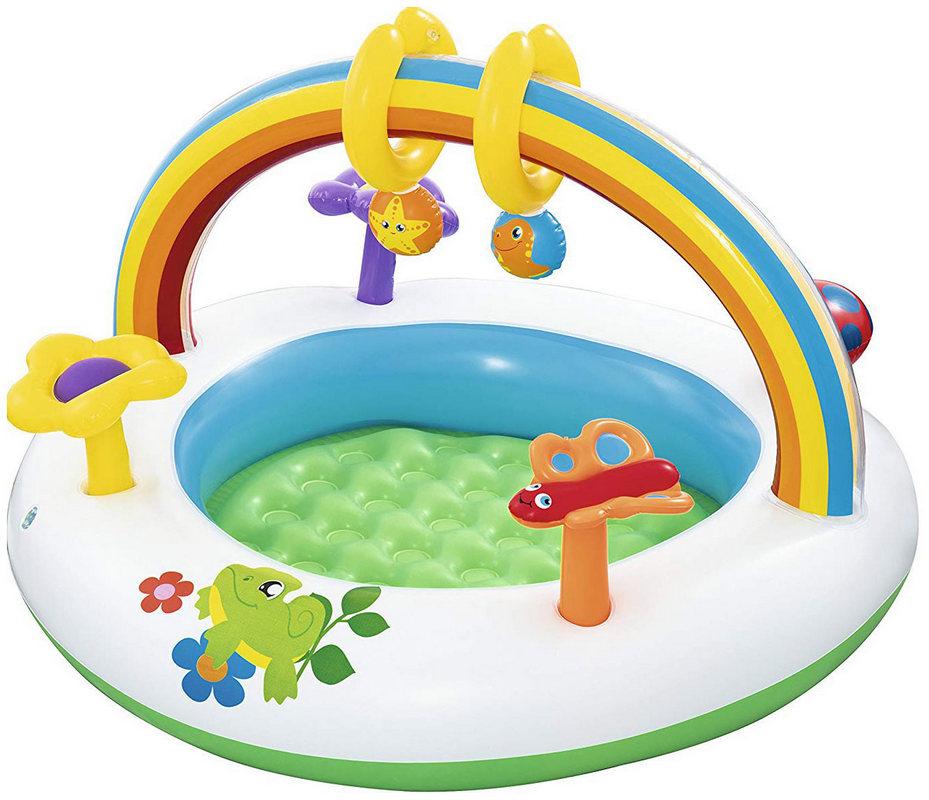 Купить Игровой центр для малышей Bestway Радуга 52239, уп.8,