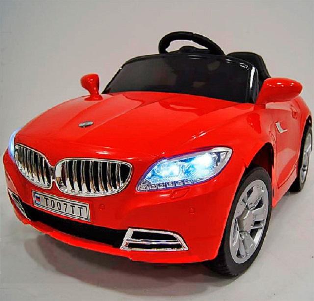 Детский электромобиль BMW с дистанционным управлением River Toys T004TT электромобиль детский 5188