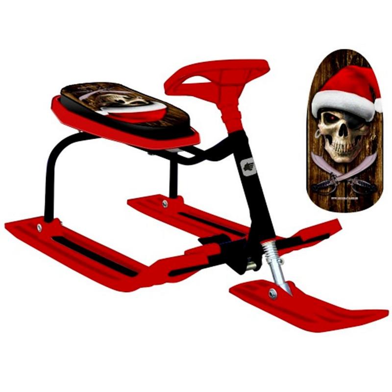 Снегокат Барс 206 Пират Красный