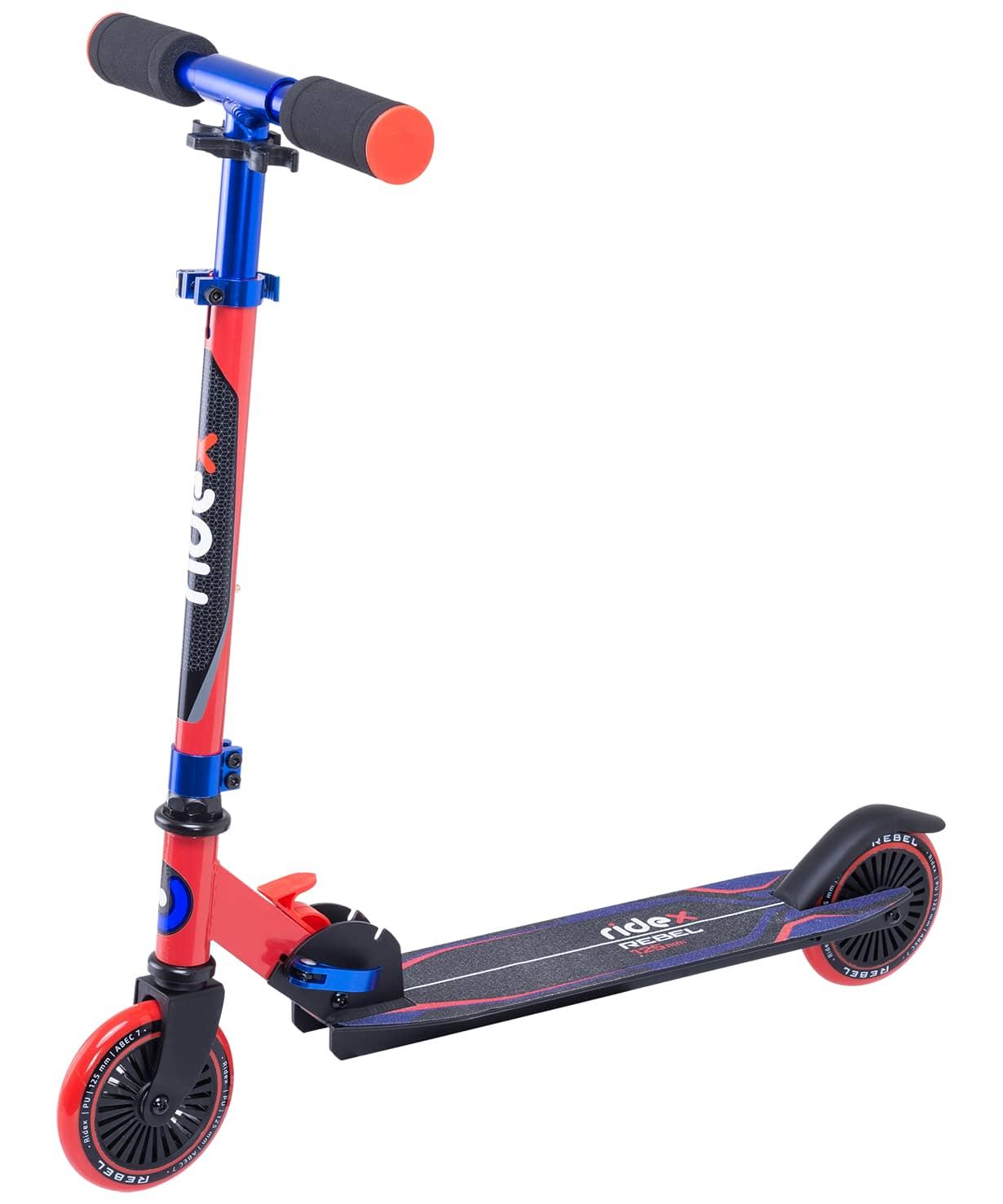 Купить Самокат 2-колесный Ridex Rebel d125 мм, красныйсиний,