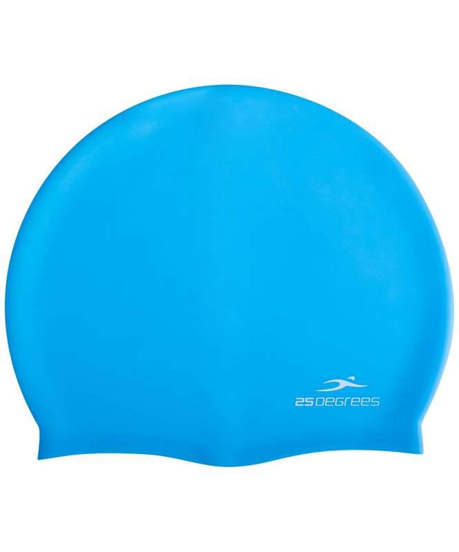 Купить Шапочка для плавания 25DEGREES Nuance Light Blue, силикон, подростковый,