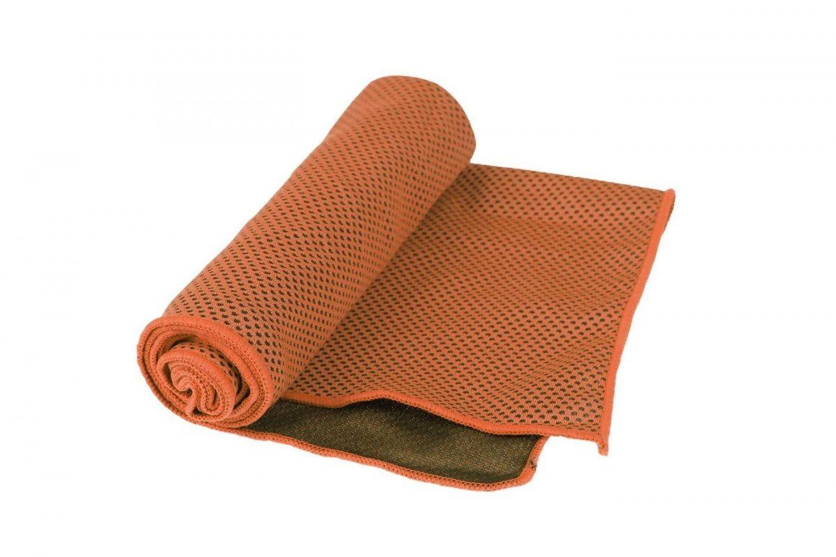 Полотенце охлаждающее в бутылке SF 0420 оранжевое