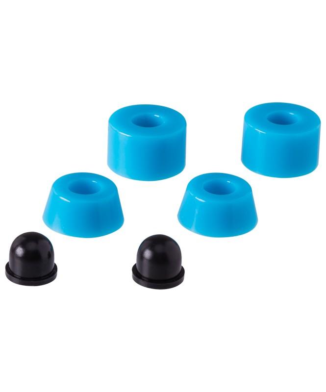 Комплект бушингов Ridex SB, 90А, голубой подвески для скейтборда для лонгборда 2шт penny trucks black 3 125 14 9 см