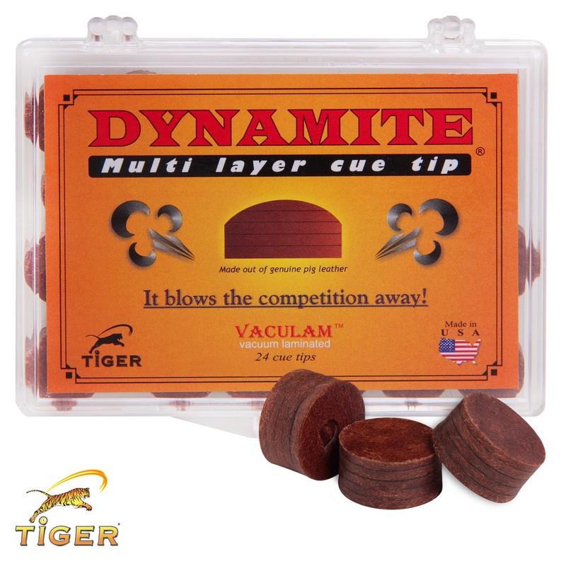 Наклейка для кия Tiger Dynamite ?13мм Hard, 1шт.