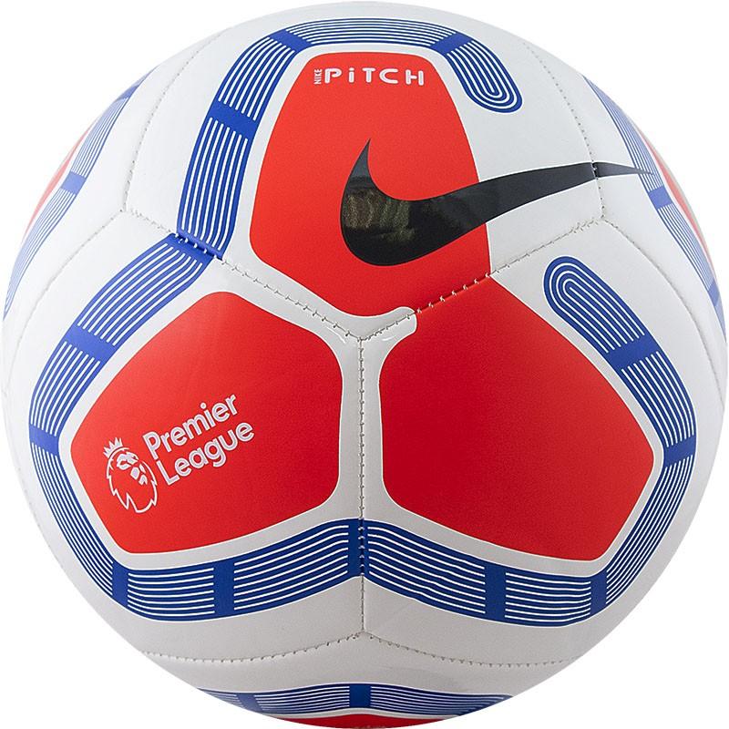 Купить Мяч футбольный любительский Nike Pitch PL SC3569-101, р.5,