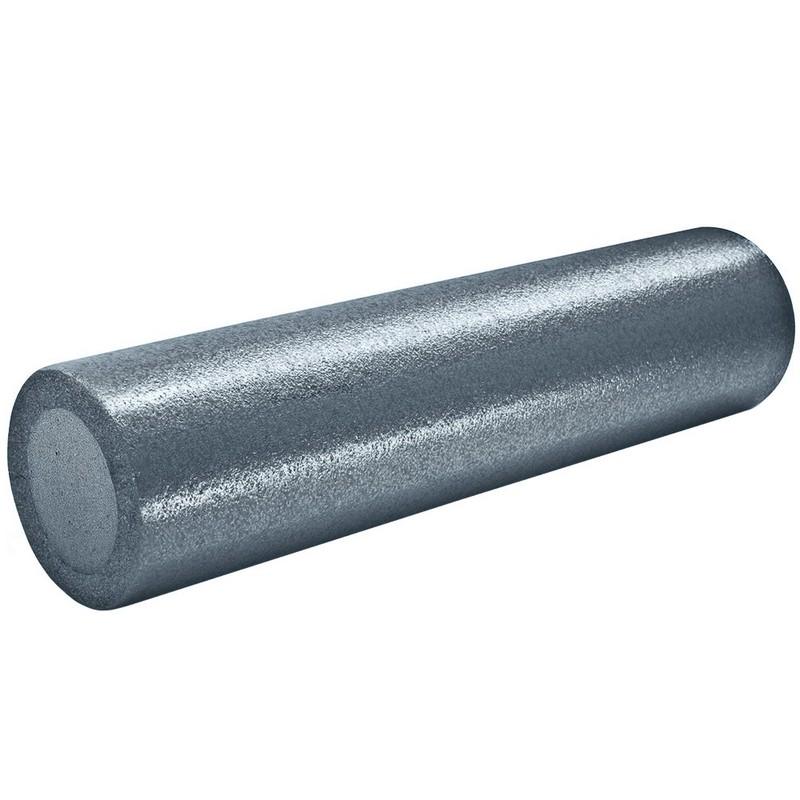 Купить Ролик для йоги полнотелый 60х15см B31512-8 графитовый, NoBrand