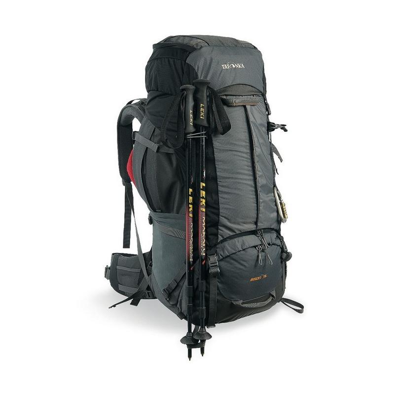 Рюкзак Tatonka Bison 75+10л, тёмно-серый, 1356.021