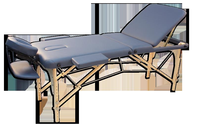 Складной массажный стол Oxygen Wellness Ecoline 100
