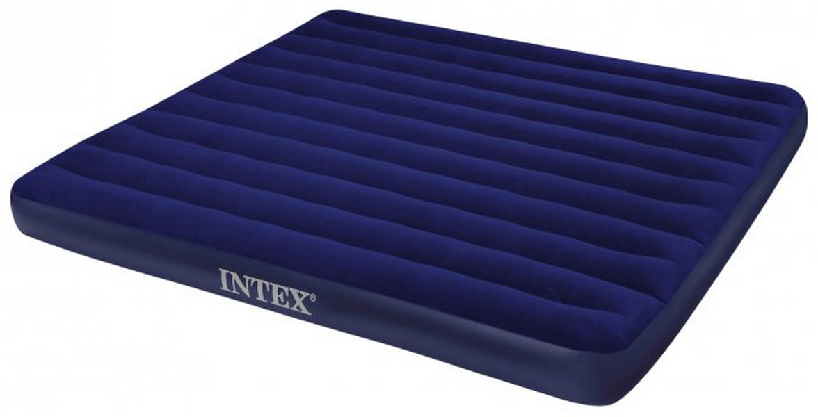 Надувной матрас Intex Classic Downy Bed, 183х203х22 см 68755