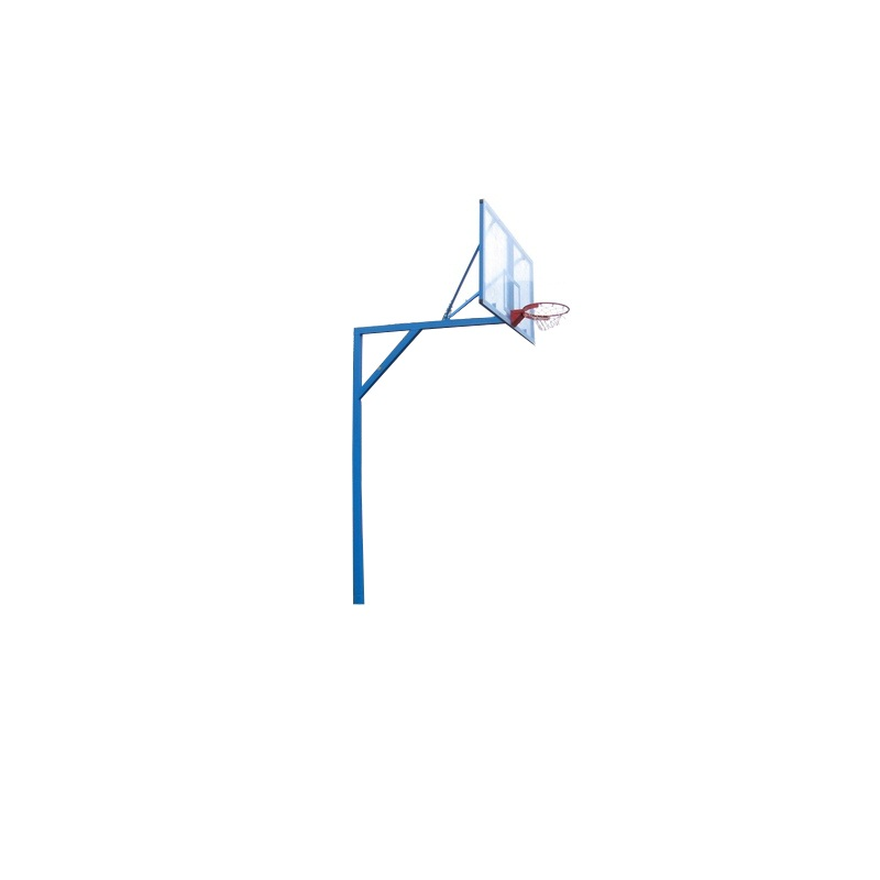 Стойка баскетбольная стационарная Г - образная, уличная, вынос 1,75 м. М182