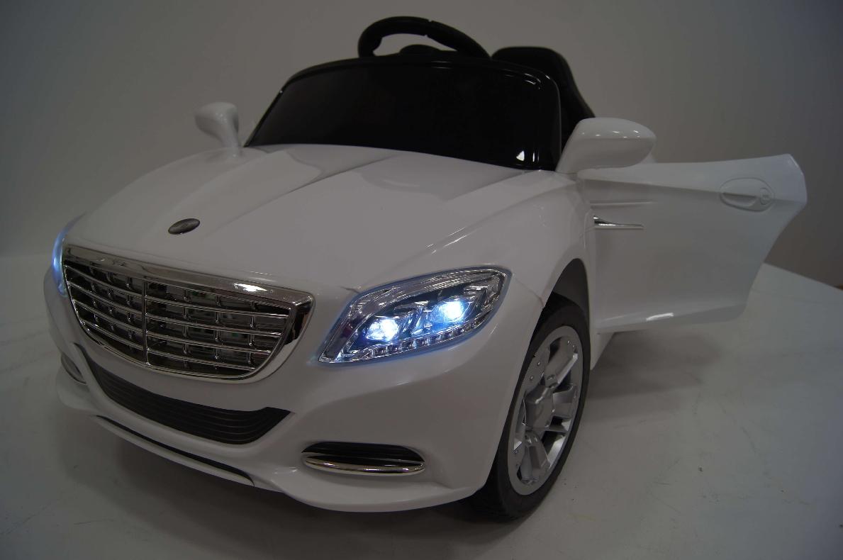 Детский электромобиль River-Toys Mercedes T007TT белый с ДУ