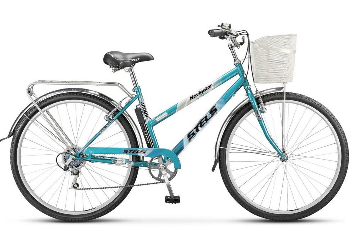 Купить Велосипед Stels Navigator 28 350 Lady Z010 (с корзиной) (LU085345),