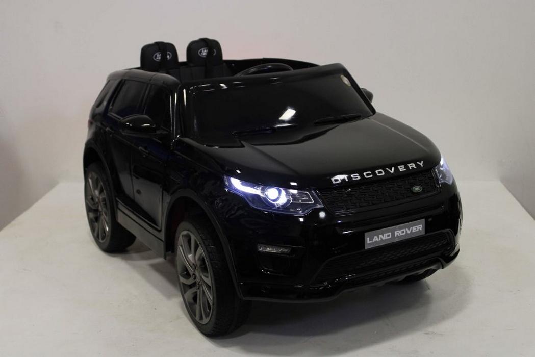 Детский электромобиль River-Toys Land Rover Discovery Sport O111OO Black-Glanec