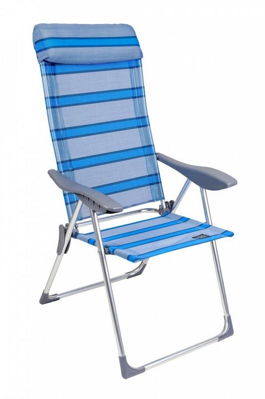 Кресло складное GoGarden Sunday голубой