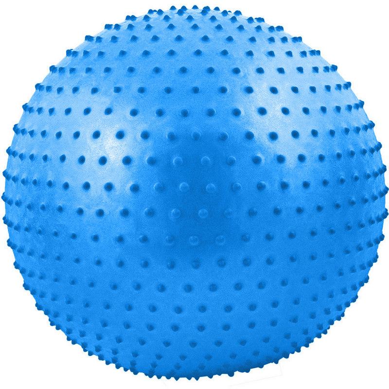 Купить Мяч гимнастический Anti-Burst массажный 75 см FBM-75-5, синий, NoBrand