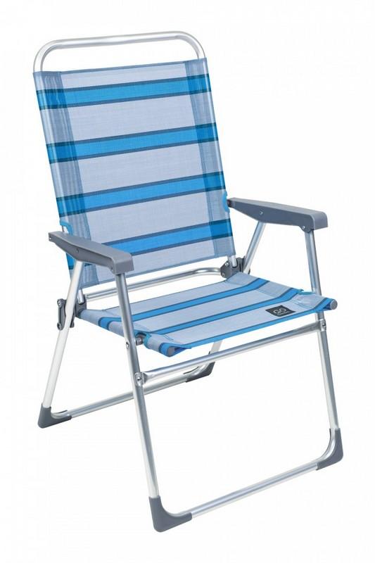 Кресло складное GoGarden Weekend голубой кресло складное boyscout комфорт
