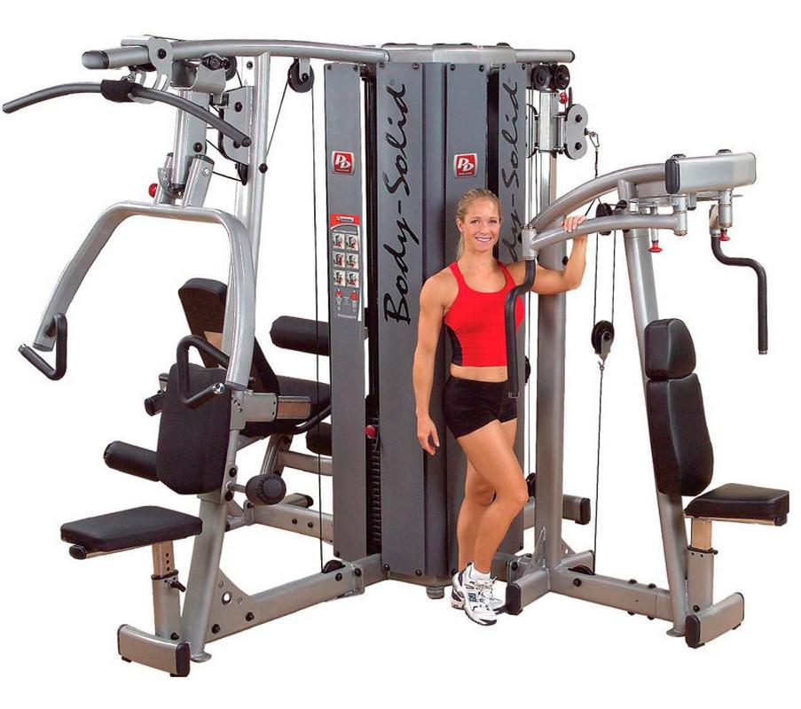 База для 4-стековой мультистанции Body Solid Pro Dual без весов