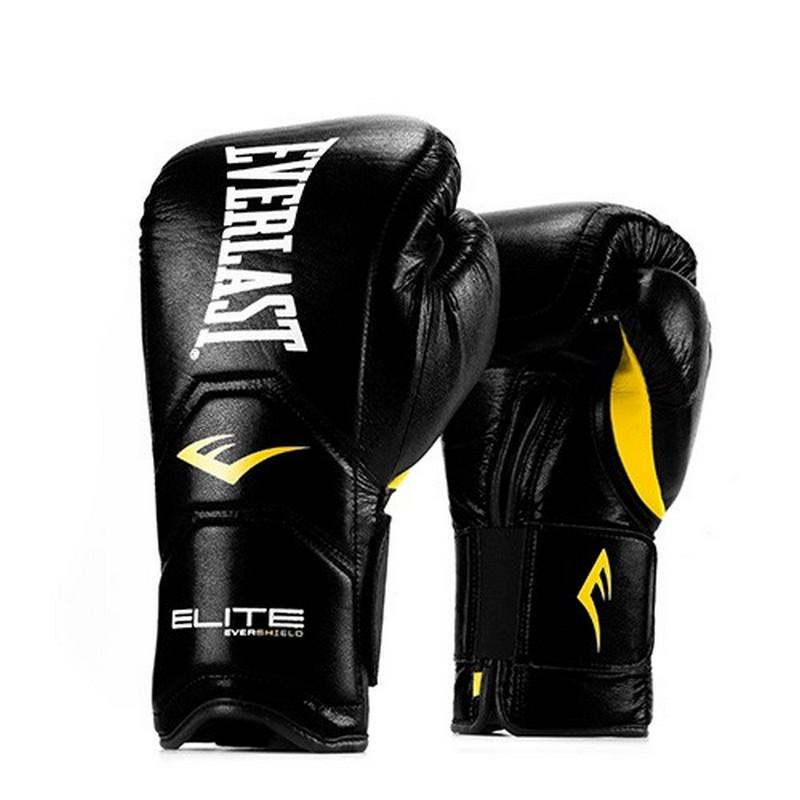 Перчатки тренировочные на липучке Everlast Elite Pro 14oz