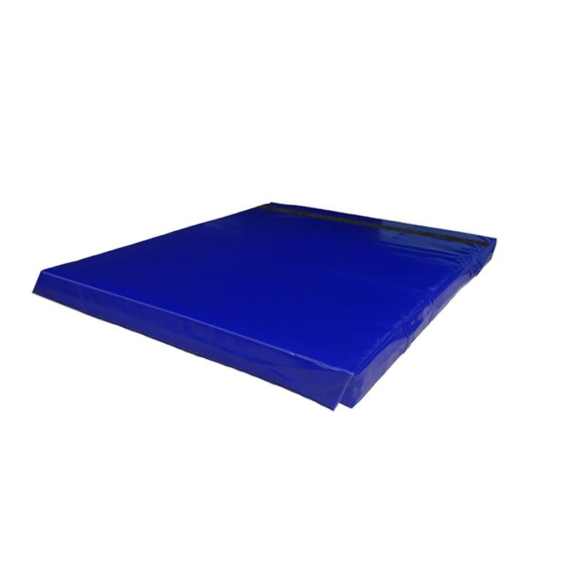 Купить Мат гимнастический 100x100x5 тент-велькро холлофайбер Dinamika ZSO-001356,