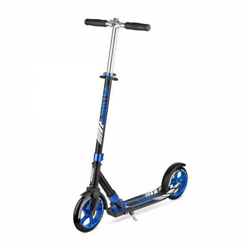 Купить Самокат Weelz Twist 270001 черно-синий,
