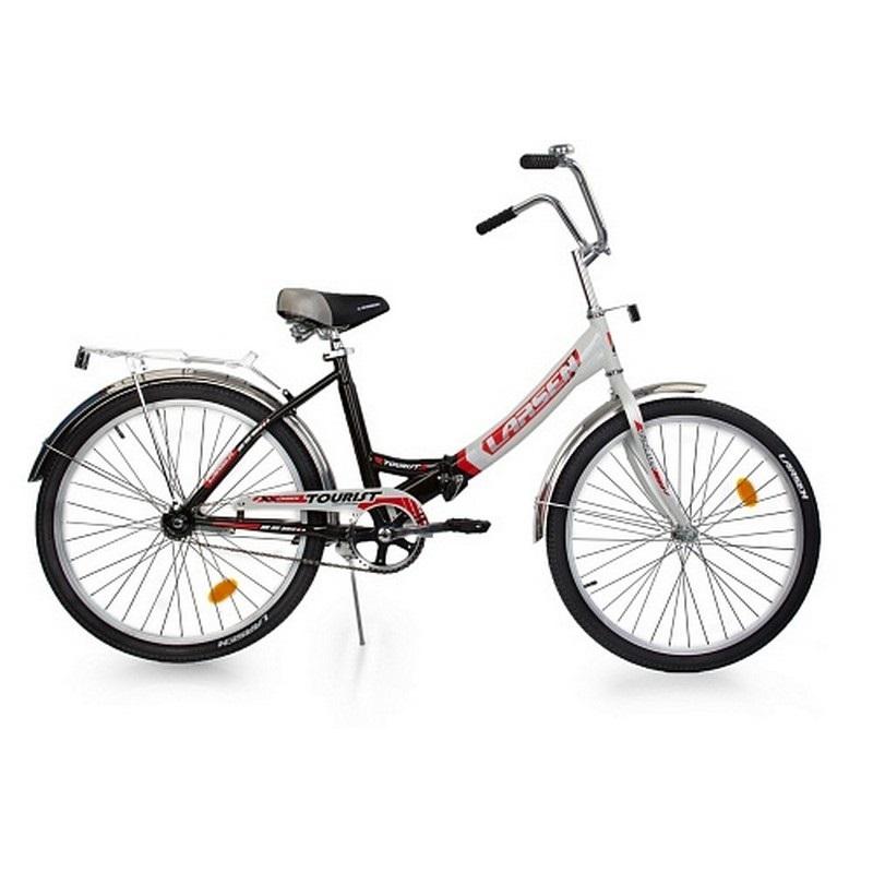 """Велосипед Larsen Tourist (16, 24"""") велосипед larsen tourist черный белый cкладной"""