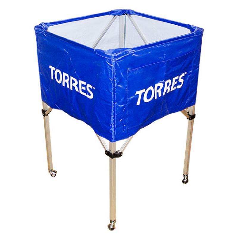 Тележка для мячей складная аллюминий Torres