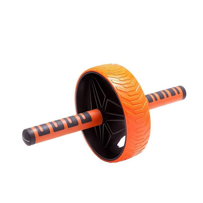 Купить Ролик гимнастический Body Form BF-WG04 черный-оранжевый,