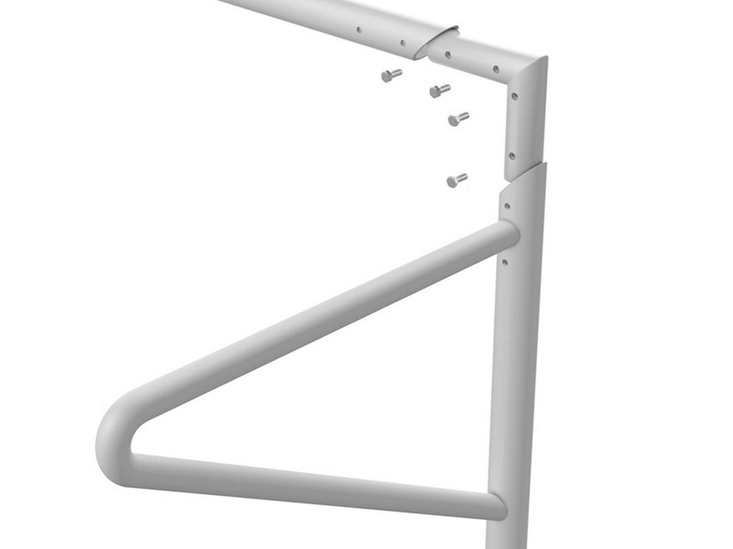 Купить Ворота футбольные с консолями для натяжения сетки, разборные (5х2 м) Glav 15.101.1 500x200см,