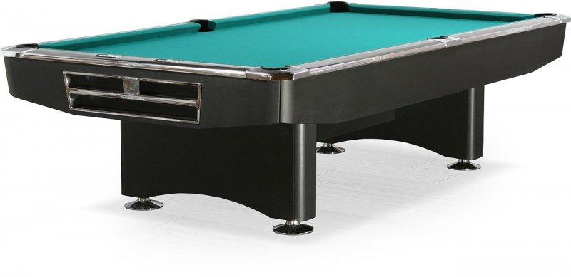 Купить Бильярдный стол пул Dynamic Billard Competition 9 ф в комплекте аксессуары + сукно матовый черный,