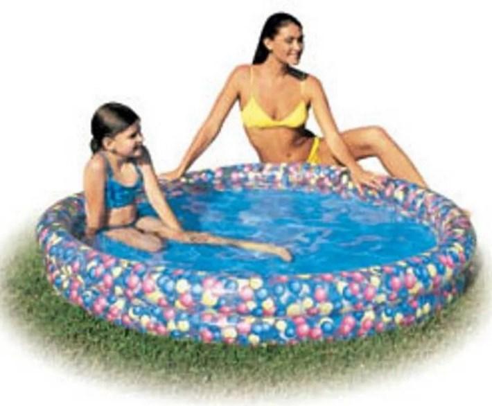 Бассейн Цветы 102x20см Bestway 51011 bestway bestway бассейн семейный надувной