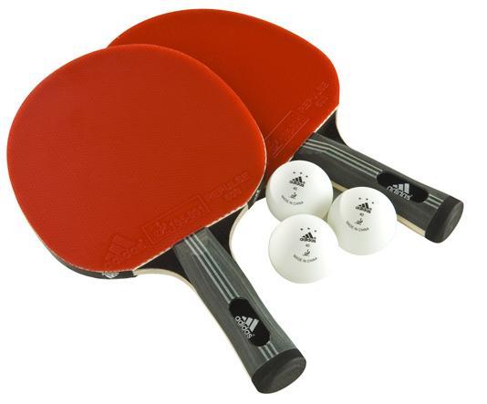 Набор для настольного тенниса Adidas Comp 2 ракетки 3 мяча AGF-10406 цена