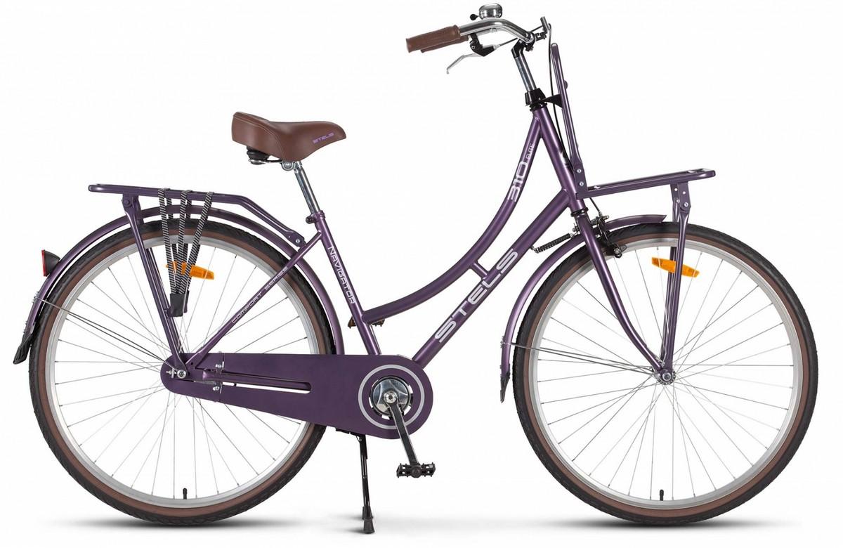 Купить Велосипед Stels Navigator 28 310 Lady V020 2018 Фиолетовый (LU083548),