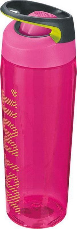 Купить Бутылка для воды Nike TR Hypercharge Rocker Bottle 24oz vivid pink/volt/volt,