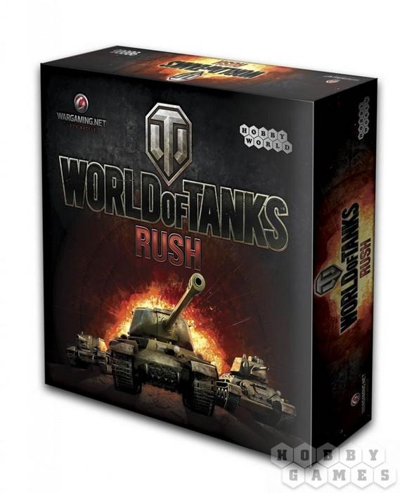 Купить Настольная игра Hobby World World of Tanks Rush (2-е рус. изд.), Настольные игры
