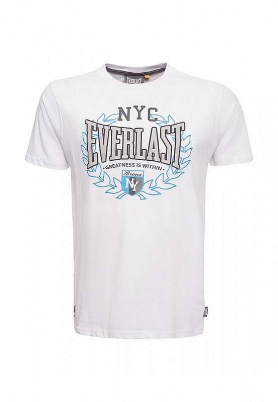 Футболка Everlast Sports Marl NYC белая EVR9025 WH