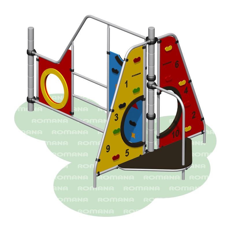 Купить Игровое оборудование Romana 401.14.00, Детские спортивные комплексы, площадки